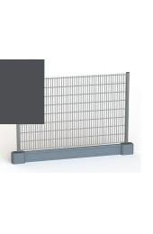 Panele ogrodzeniowe 6/5/6 - 1,43 m - Grafit + PODMURÓWKA