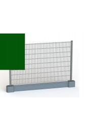 Panele ogrodzeniowe 6/5/6 - 1,43 m - Zielone + PODMURÓWKA