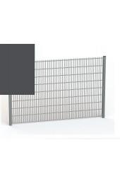 Panele ogrodzeniowe 6/5/6 - 1,63 m - Grafit