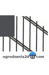 Panele ogrodzeniowe 6/5/6 - 1,03 m - Grafit