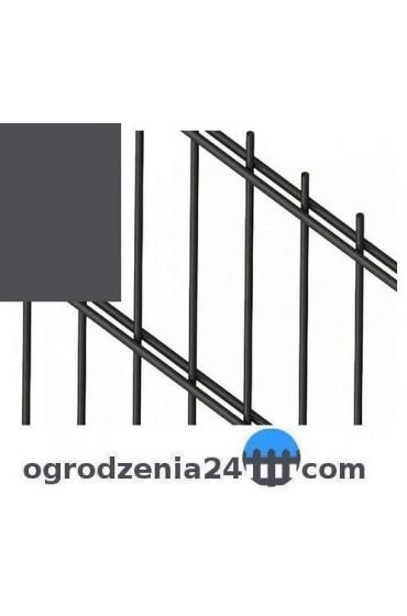 Panele ogrodzeniowe 6/5/6 - 1,23 m - Grafit