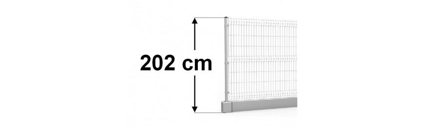 wysokość 202cm