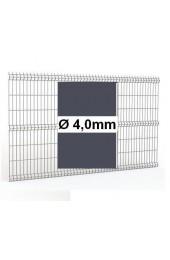 Panele ogrodzeniowe 3D grafit H= 1030mm Ø4mm oczko 50x200mm