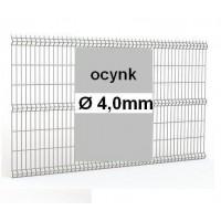 Panele ogrodzeniowe 3D ocynk H= 1230mm  Ø4mm oczko 50x200mm