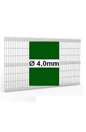 Panele ogrodzeniowe 3D zielone H= 1030mm Ø4mm oczko 50x200mm