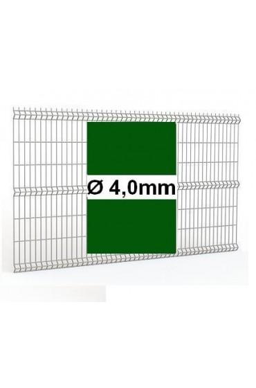 Panele ogrodzeniowe 250cm/173cm/4mm - Zielone 3D