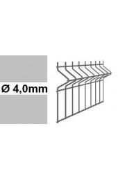 Panele ogrodzeniowe 3D ocynk H= 1030mm  Ø4mm oczko 50x200mm