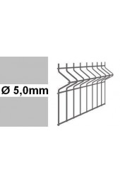 Panele ogrodzeniowe 3D ocynk H= 2230mm  Ø5mm oczko 50x200mm