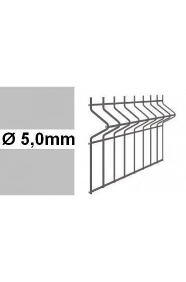 Panele ogrodzeniowe 3D ocynk H= 1530mm  Ø5mm oczko 50x200mm