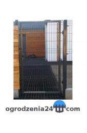 Furtka panelowa 100x120cm OCYNK + RAL 7016 GRAFIT