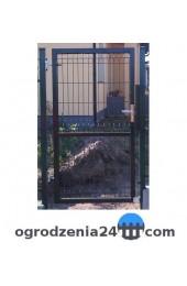 Furtka panelowa 100x120cm OCYNK + RAL 6005 ZIELONA