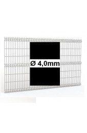 Panele ogrodzeniowe 3D czarne H= 1030mm Ø4mm oczko 50x200mm