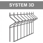 Panele ogrodzeniowe fi4/5mm 3D (97)