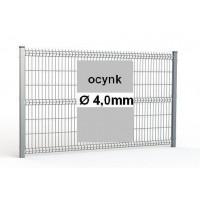 Zestaw ogrodzenie panelowe ocynk H=1230mm Ø4mm oczko 50x200mm ( 1mb )