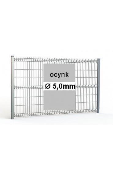 Zestaw ogrodzenie panelowe ocynk H=1730mm Ø5mm oczko 50x200mm ( 1mb )