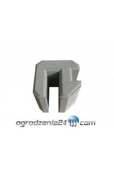 Osadnik betonowy narożny h=25cm