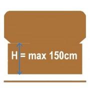 Wysokość od 121 cm  do 150 (0)